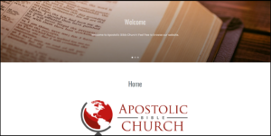 Apostolic Bible Institute/Church – The Whole Gospel To The Whole World